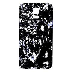 Little bit of blue Samsung Galaxy S5 Back Case (White)