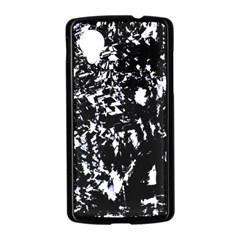Little bit of blue Nexus 5 Case (Black)