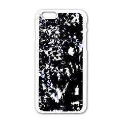 Little bit of blue Apple iPhone 6/6S White Enamel Case