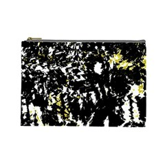 Little bit of yellow Cosmetic Bag (Large)