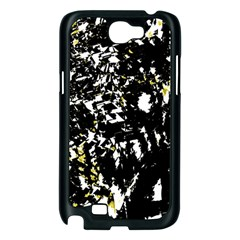 Little bit of yellow Samsung Galaxy Note 2 Case (Black)