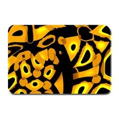 Yellow design Plate Mats