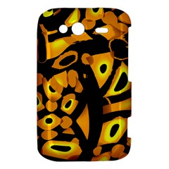 Yellow design HTC Wildfire S A510e Hardshell Case