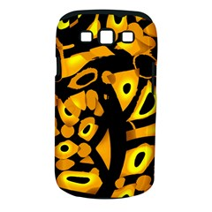 Yellow design Samsung Galaxy S III Classic Hardshell Case (PC+Silicone)