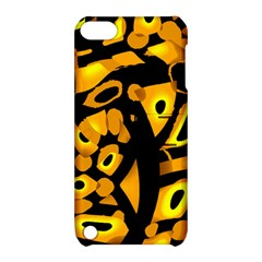 Yellow design Apple iPod Touch 5 Hardshell Case with Stand