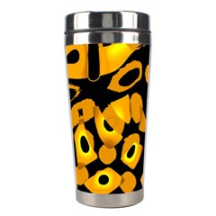 Yellow design Stainless Steel Travel Tumblers