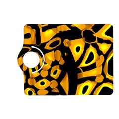 Yellow design Kindle Fire HD (2013) Flip 360 Case