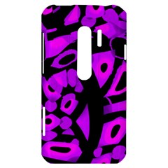 Purple design HTC Evo 3D Hardshell Case