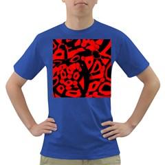 Red design Dark T-Shirt