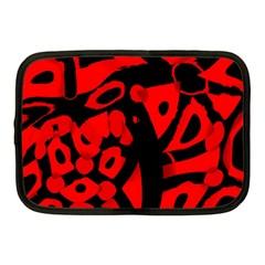 Red design Netbook Case (Medium)
