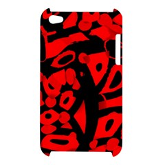 Red design Apple iPod Touch 4
