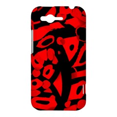 Red design HTC Rhyme