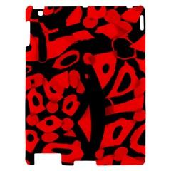 Red design Apple iPad 2 Hardshell Case