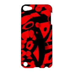 Red design Apple iPod Touch 5 Hardshell Case
