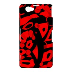Red design Sony Xperia Z1 Compact