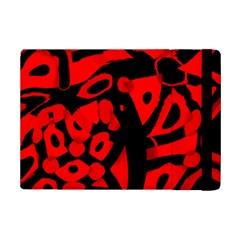 Red design iPad Mini 2 Flip Cases