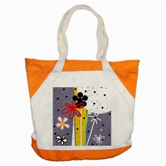 Flowers Accent Tote Bag