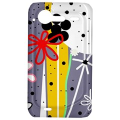 Flowers HTC Incredible S Hardshell Case