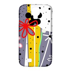 Flowers Samsung Galaxy S4 Classic Hardshell Case (PC+Silicone)