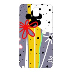 Flowers Samsung Galaxy Note 3 N9005 Hardshell Back Case