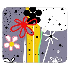 Flowers Double Sided Flano Blanket (Small)