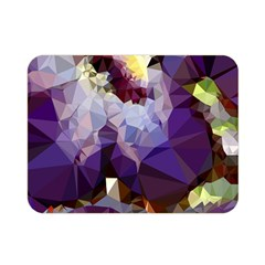 Purple Abstract Geometric Dream Double Sided Flano Blanket (mini)
