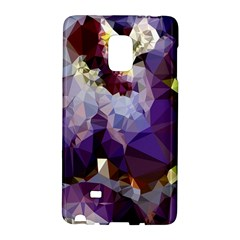 Purple Abstract Geometric Dream Galaxy Note Edge