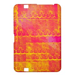 Yello And Magenta Lace Texture Kindle Fire Hd 8 9