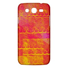 Yello And Magenta Lace Texture Samsung Galaxy Mega 5 8 I9152 Hardshell Case