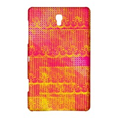 Yello And Magenta Lace Texture Samsung Galaxy Tab S (8 4 ) Hardshell Case