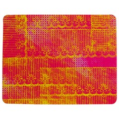 Yello And Magenta Lace Texture Jigsaw Puzzle Photo Stand (rectangular)