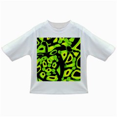 Green neon abstraction Infant/Toddler T-Shirts