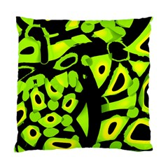Green neon abstraction Standard Cushion Case (Two Sides)