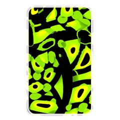 Green neon abstraction Memory Card Reader
