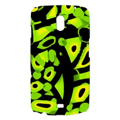 Green neon abstraction Samsung Galaxy Nexus i9250 Hardshell Case