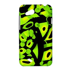 Green neon abstraction HTC Desire VC (T328D) Hardshell Case