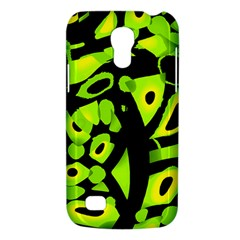 Green neon abstraction Galaxy S4 Mini