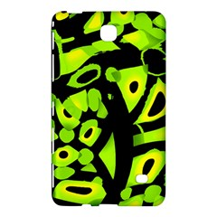Green neon abstraction Samsung Galaxy Tab 4 (8 ) Hardshell Case
