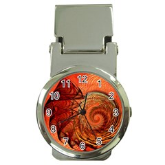 Nautilus Shell Abstract Fractal Money Clip Watches