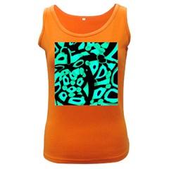 Cyan design Women s Dark Tank Top