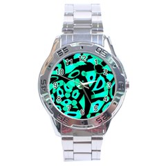 Cyan design Stainless Steel Analogue Watch