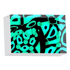 Cyan design 4 x 6  Acrylic Photo Blocks
