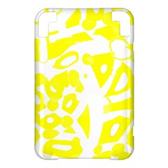 yellow sunny design Kindle 3 Keyboard 3G