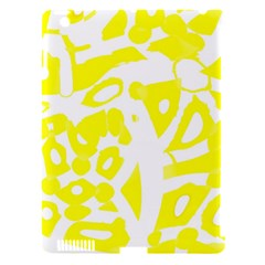 yellow sunny design Apple iPad 3/4 Hardshell Case (Compatible with Smart Cover)