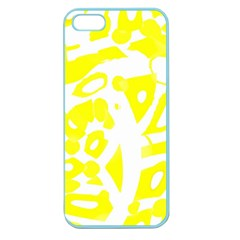 yellow sunny design Apple Seamless iPhone 5 Case (Color)