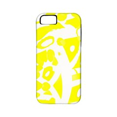 Yellow Sunny Design Apple Iphone 5 Classic Hardshell Case (pc+silicone)