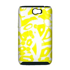 yellow sunny design Samsung Galaxy Note 2 Hardshell Case (PC+Silicone)