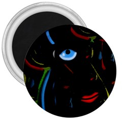 Black magic woman 3  Magnets