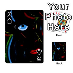 Black magic woman Playing Cards 54 Designs