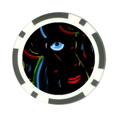 Black magic woman Poker Chip Card Guards (10 pack)
